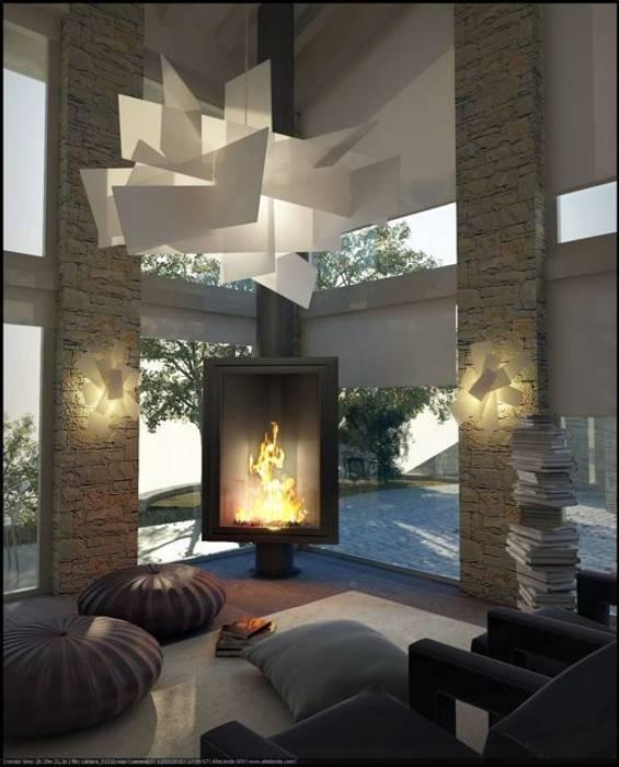 Living room تنفيذ FAPIR srl