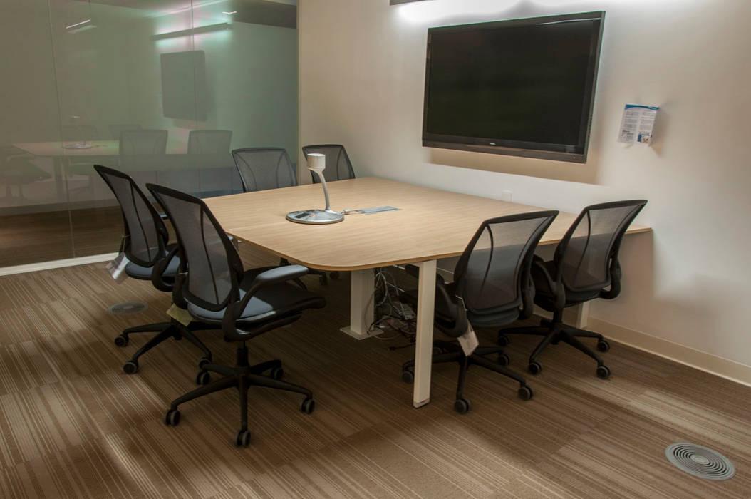 modern Study/office by Serrano Monjaraz Arquitectos