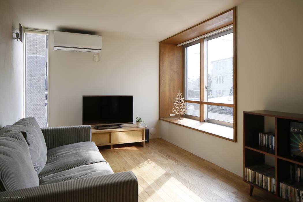 アトリエKUKKA一級建築士事務所/ atelier KUKKA architects Modern Living Room