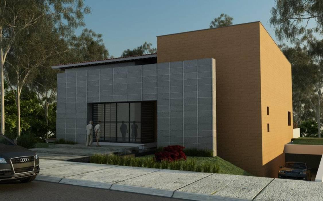 現代房屋設計點子、靈感 & 圖片 根據 ALONSO ARQUITECTOS 現代風