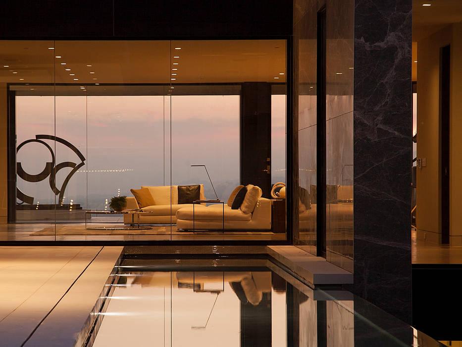 SUNSET STRIP RESIDENCE Modern Windows and Doors by McClean Design Modern