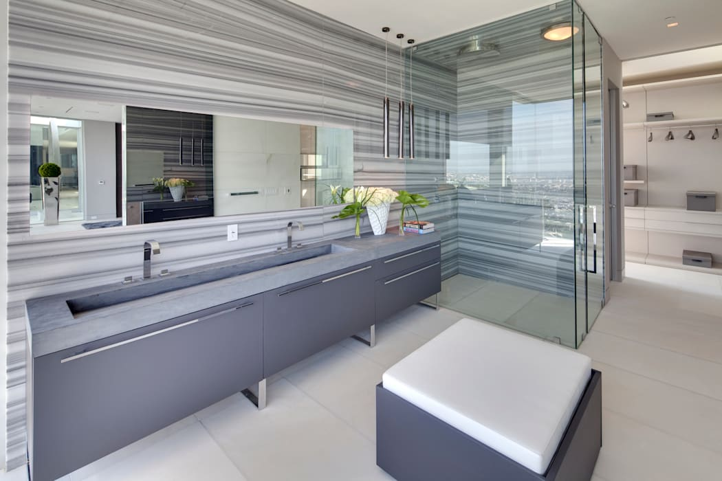 SUNSET STRIP RESIDENCE McClean Design Modern Bathroom