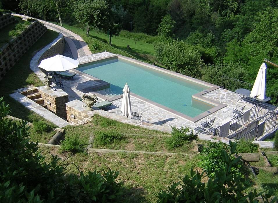 Piscina Privata -  Valdottavo (LU): Piscina in stile in stile Eclettico di culligan piscine