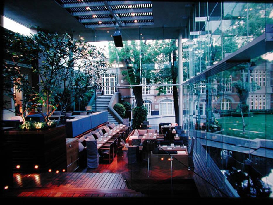 Casa Lamm: Comedores de estilo  por Serrano Monjaraz Arquitectos, Moderno