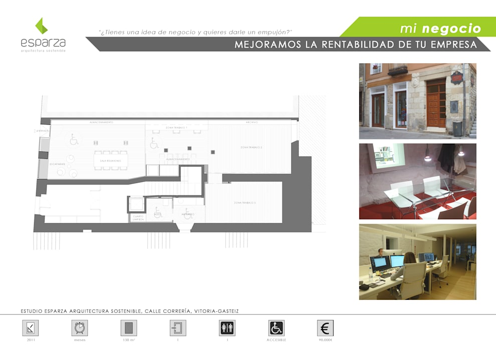 La tienda de arquitectura:  de estilo  de ESPARZA ARQUITECTURA SOSTENIBLE