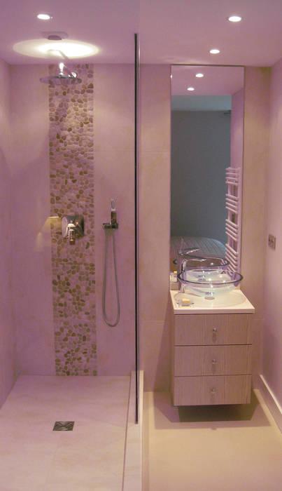 Salle d'eau ouverte Maisons par Philippe Ponceblanc Architecte d'intérieur