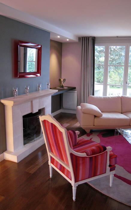 Habillage des fauteuils Maisons par Philippe Ponceblanc Architecte d'intérieur