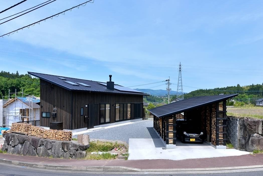 H-HOUSE: 株式会社長野聖二建築設計處が手掛けた家です。