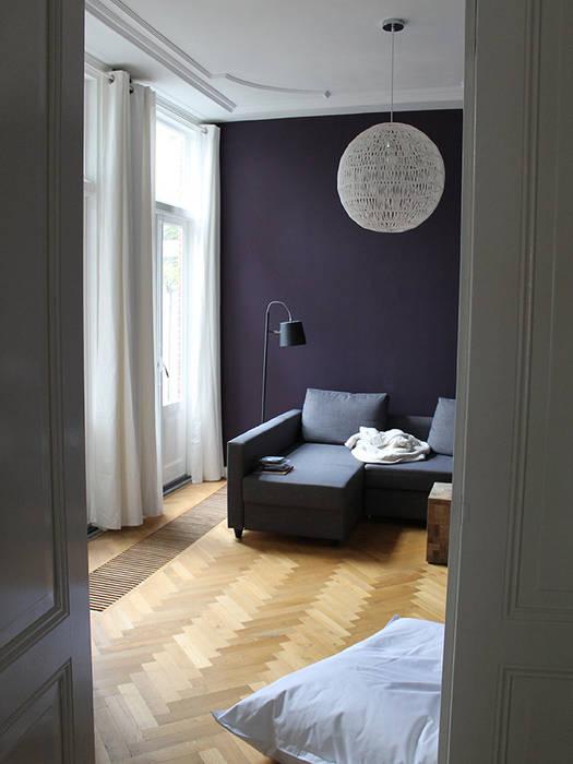 interieur woonhuis Moderne woonkamers van No Label Modern