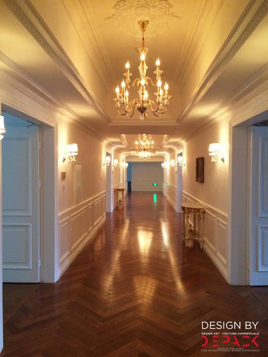 Couloir R+1 Gastronomie classique par DEPACK DESIGN Classique