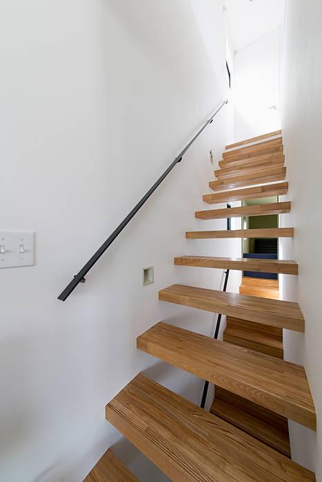 秘密基地のある家: ラブデザインホームズ/LOVE DESIGN HOMESが手掛けた階段です。