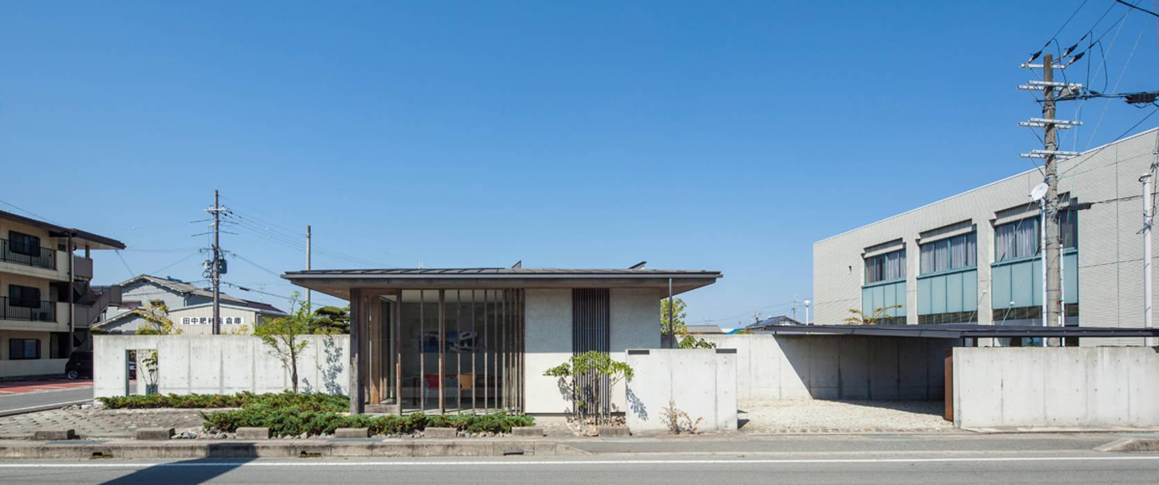 外観 ミニマルな 家 の 川添純一郎建築設計事務所 ミニマル