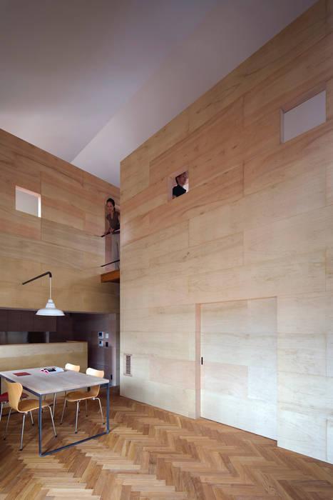 リビング ミニマルデザインの リビング の 川添純一郎建築設計事務所 ミニマル