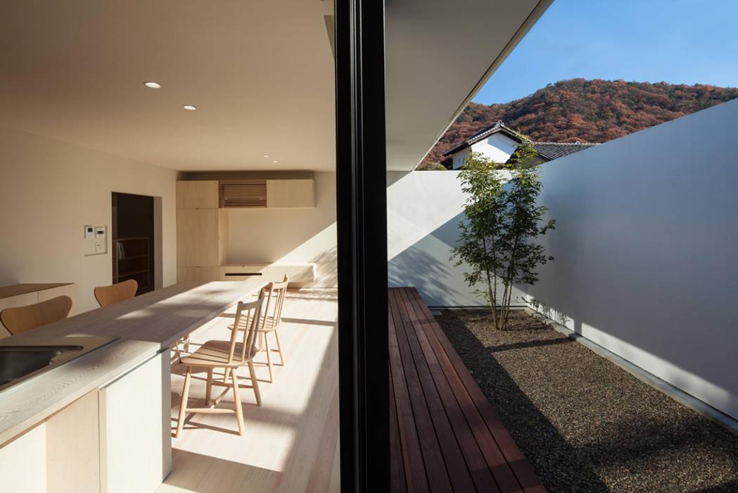 LDKと庭 ミニマルな 家 の 川添純一郎建築設計事務所 ミニマル