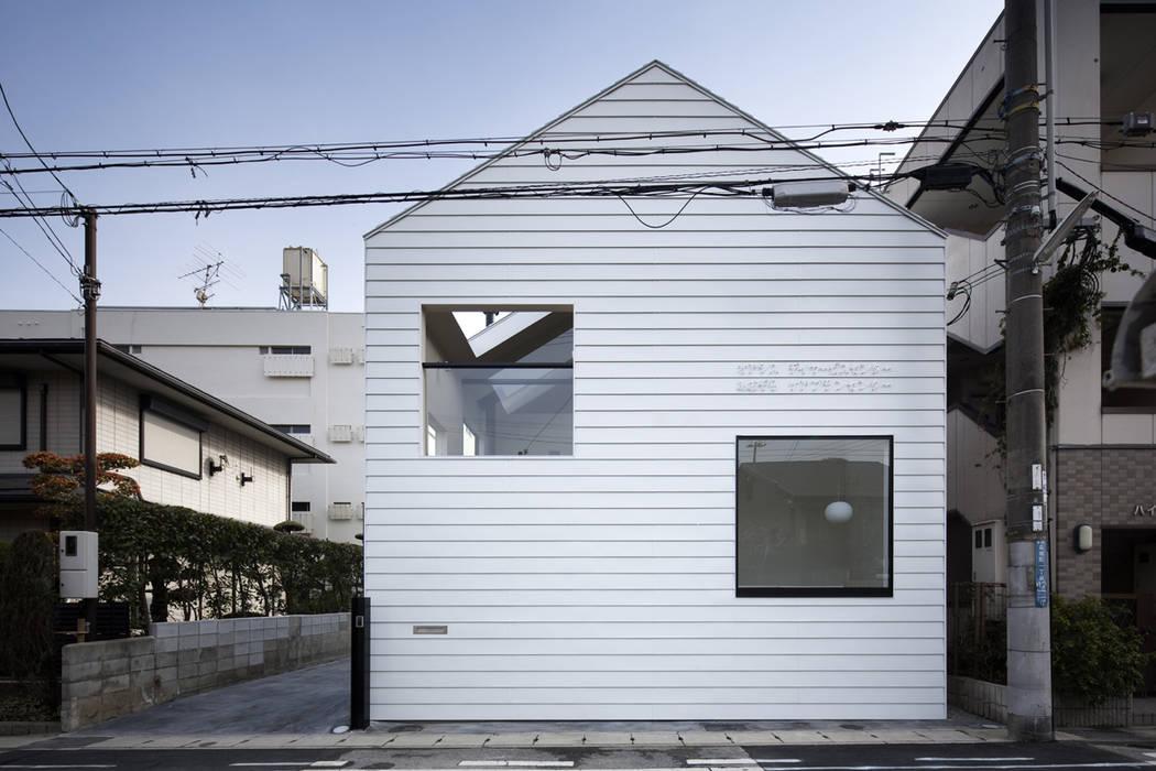 外観 川添純一郎建築設計事務所 ミニマルな病院