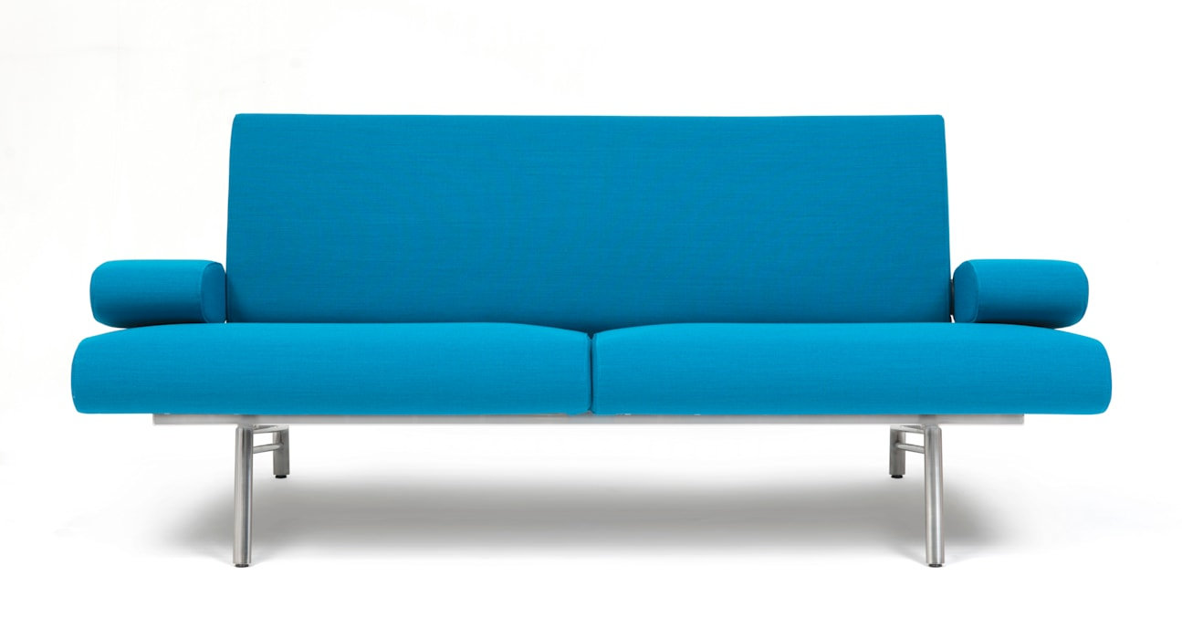 Blauwe Design Bank.Harvink Moderne Design Bank Armslag Modern Door Harvink Modern