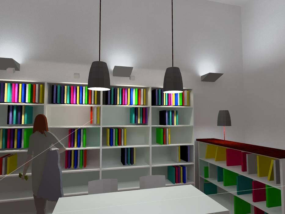 Planung der Shopbeleuchtung eines Buchladens:  Ladenflächen von Lichtlandschaften,