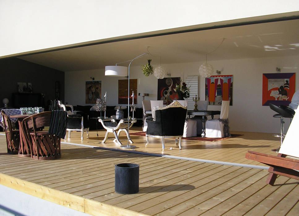 Baie ouverte: Maisons de style  par Hamerman Rouby Architectes