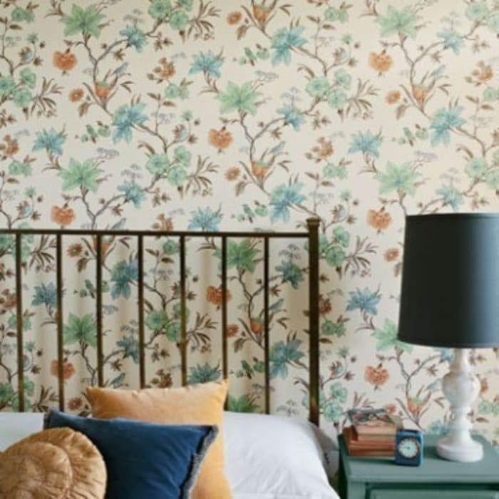 Wallpaper Secret Garden Bedroom By Fired Earth Homify