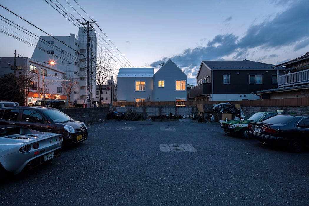 Tokyo Cottage Umbre Architects/アンブレ・アーキテクツ Modern Houses