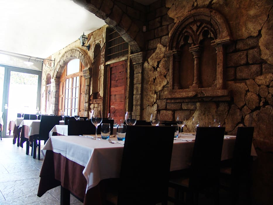 Proyectos de Interiorismo : Locales gastronómicos de estilo  de Overstone
