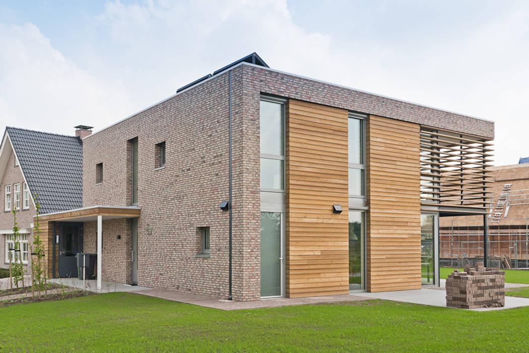 Passiefhuis Wierden:   door schipperdouwesarchitectuur