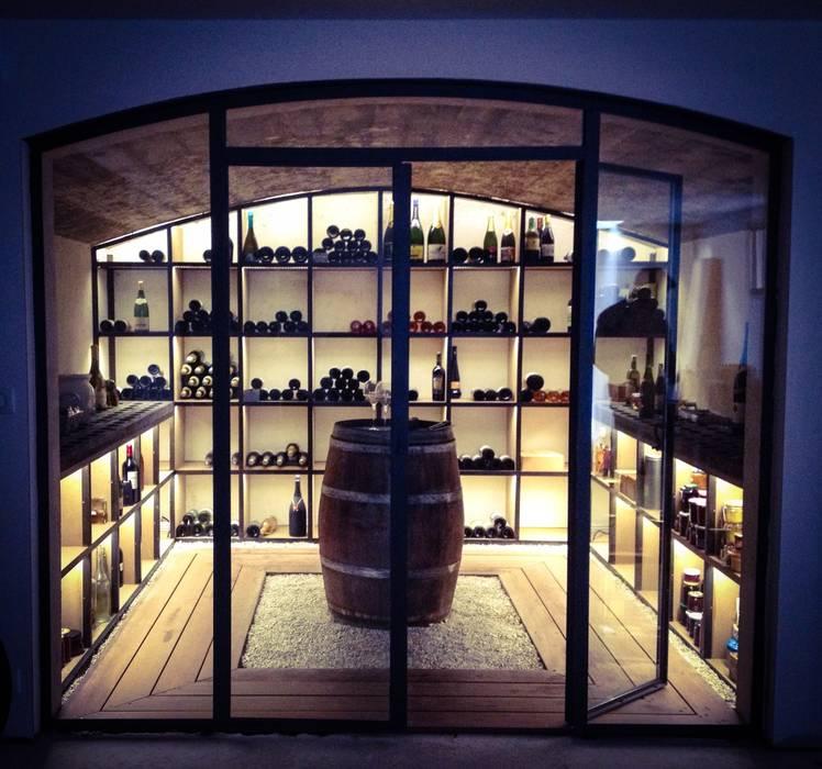 cave a vin cave vin de style par de design homify. Black Bedroom Furniture Sets. Home Design Ideas