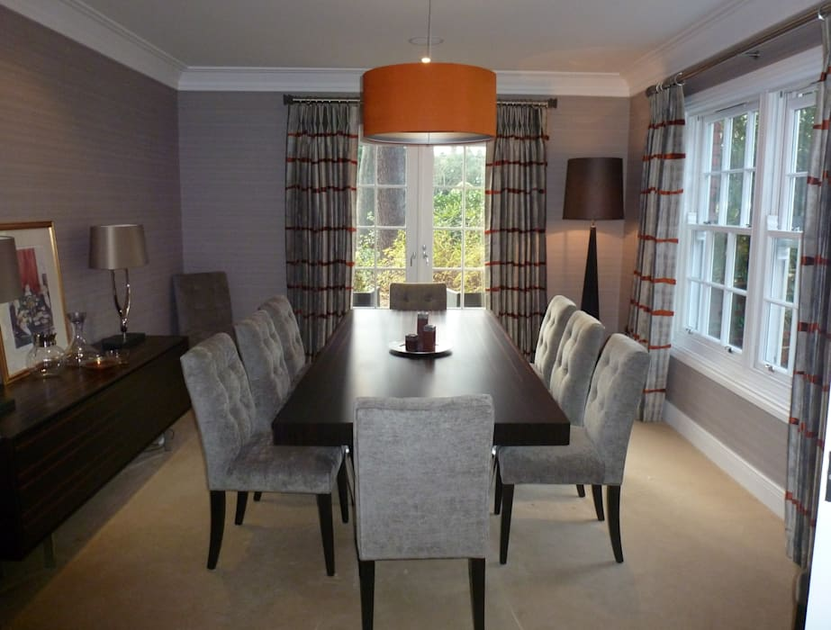 Contemporary Dining Room: modern Dining room by Rachel Angel Design