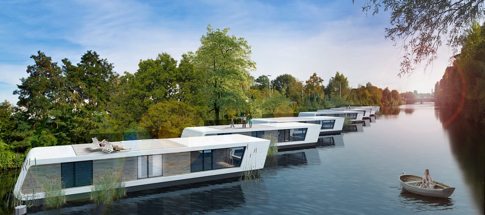 Floating Homes:   von Floating Homes GmbH,
