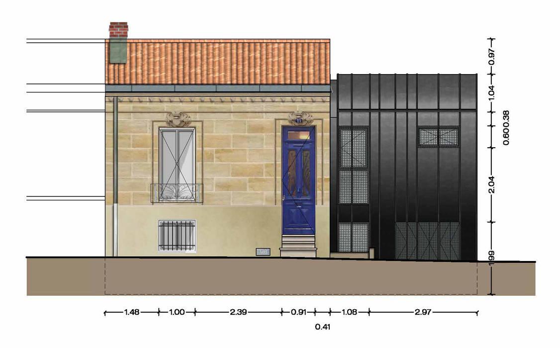 _Extension Maison LP_: Maisons de style de style Moderne par Hanuman Architecture