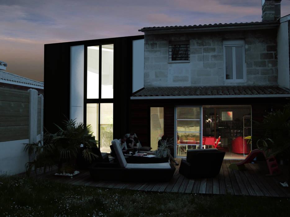_Extension Maison LP_ Maisons modernes par Hanuman Architecture Moderne