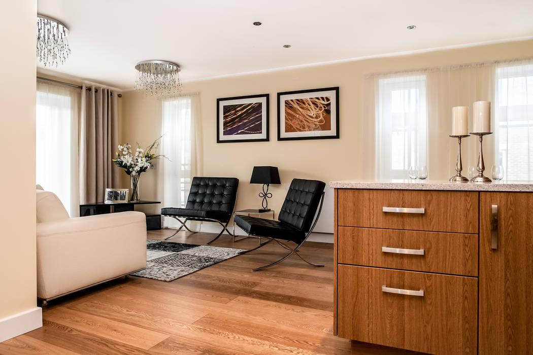 Livingroom Modern living room by Lujansphotography Modern