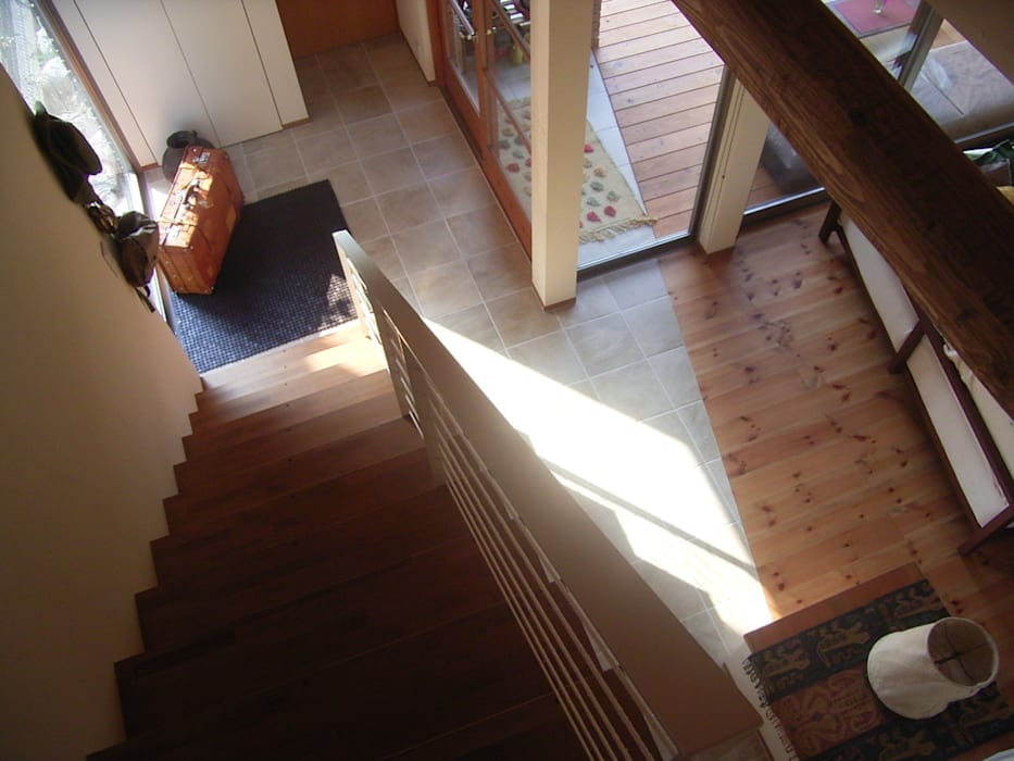 階段 オリジナルな 家 の SIN・DESIGN・ROOM オリジナル