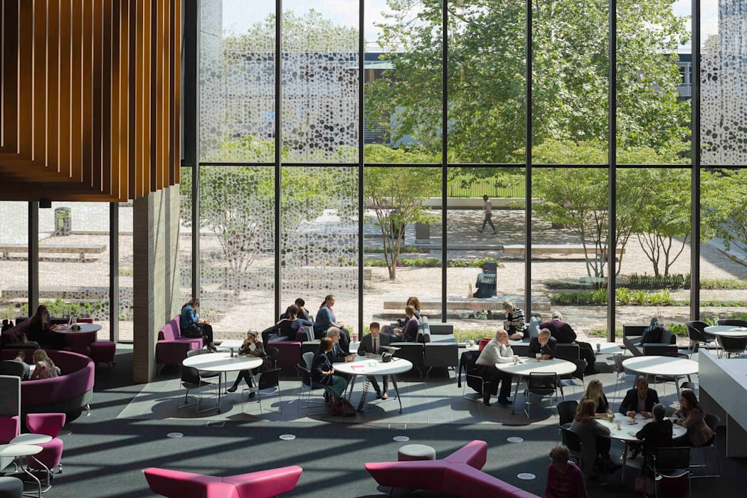 John Henry Brookes Building, Oxford Brookes University:  Schools by Design Engine