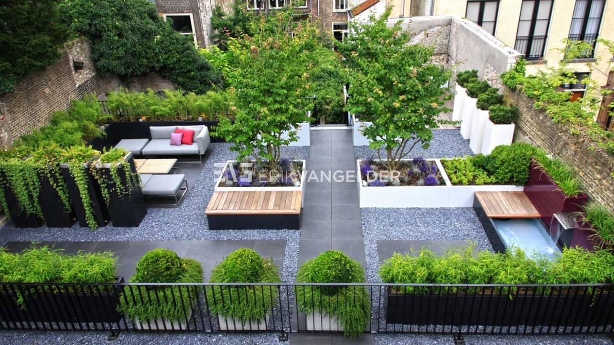 Daktuin Dordrecht:  Tuin door ERIK VAN GELDER | Devoted to Garden Design