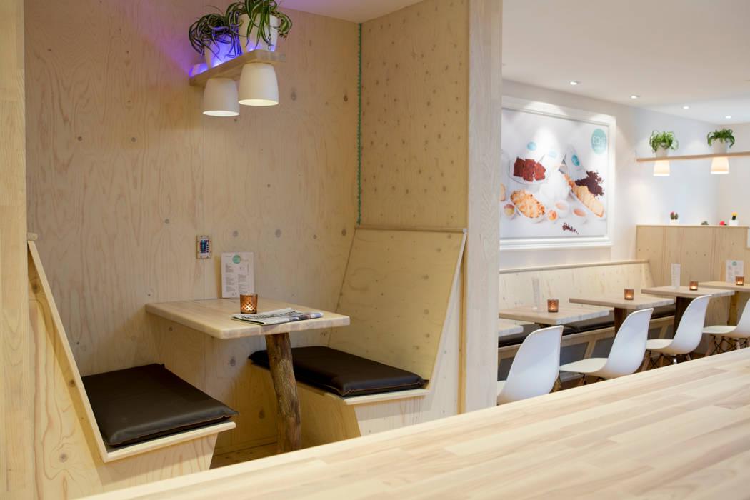 Restaurantes de estilo  por Jan Gunneweg,