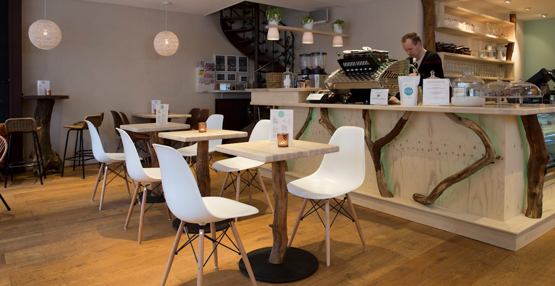Restaurantes de estilo  por Jan Gunneweg