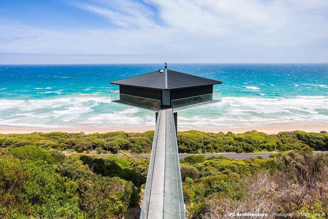 The Pole House Rumah Gaya Mediteran Oleh F2 Architecture Mediteran