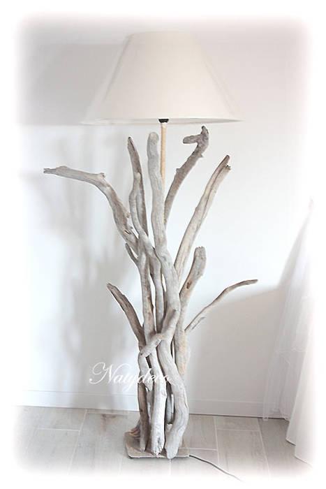 Lampadaire En Bois Flotte Maison De Style Par Natydeco Homify