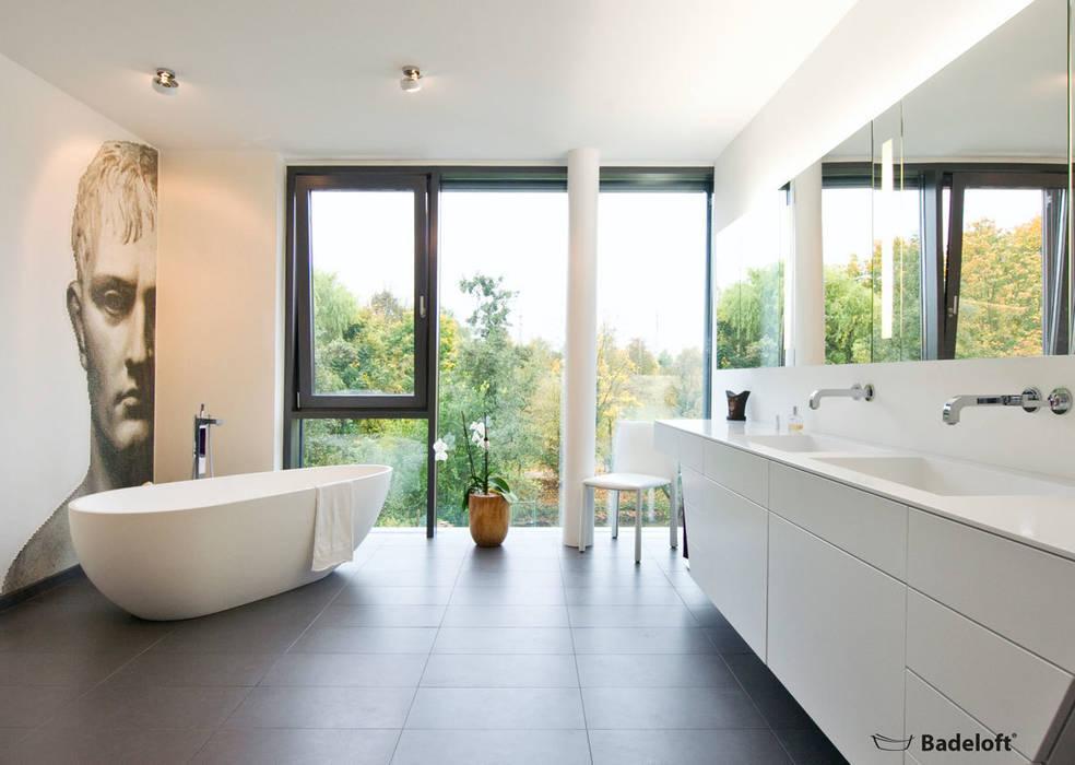 Freistehende Badewanne Bw 01 L Aus Mineralguss Badezimmer Von