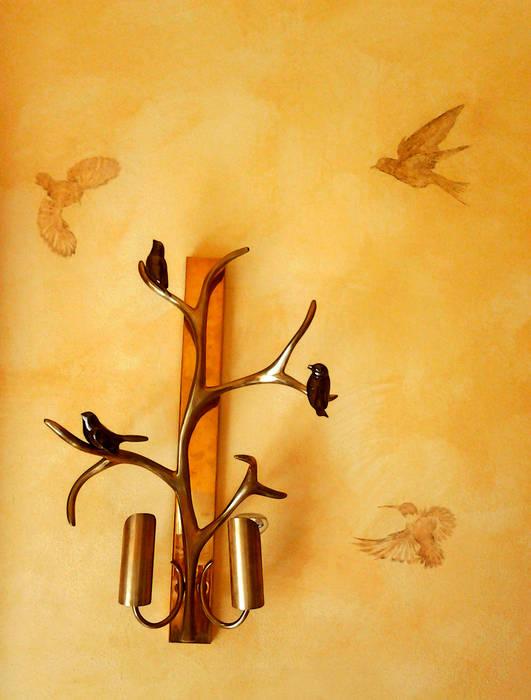 Colibris: Murs de style  par Zuritagordian