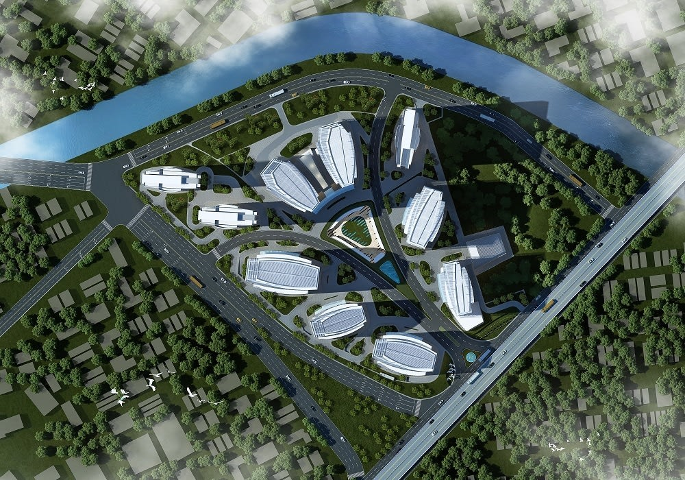 Ciputra International by Aedas by Architecture by Aedas