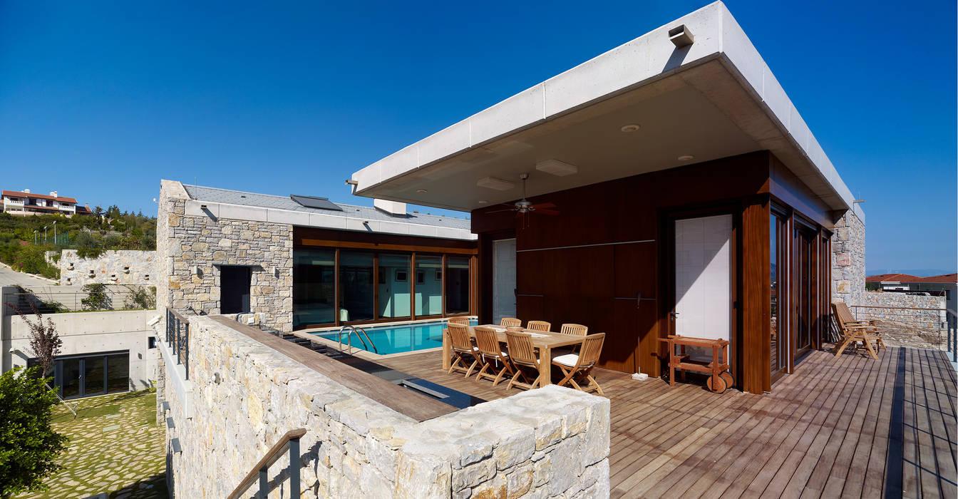 Modern style balcony, porch & terrace by TEGET Mimarlık Modern