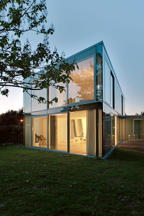 Houses by Wiel Arets Architects, Modern