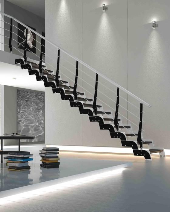 scale loft di rintal unione perfetta tra design e sicurezza ingresso corridoio scale in. Black Bedroom Furniture Sets. Home Design Ideas