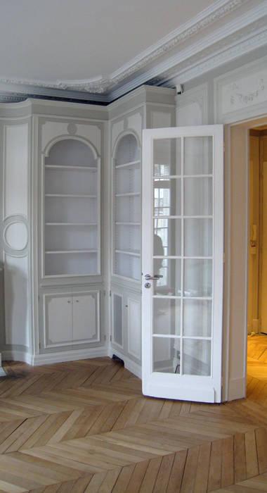 Bibliothèque en salon Salon moderne par Philippe Ponceblanc Architecte d'intérieur Moderne
