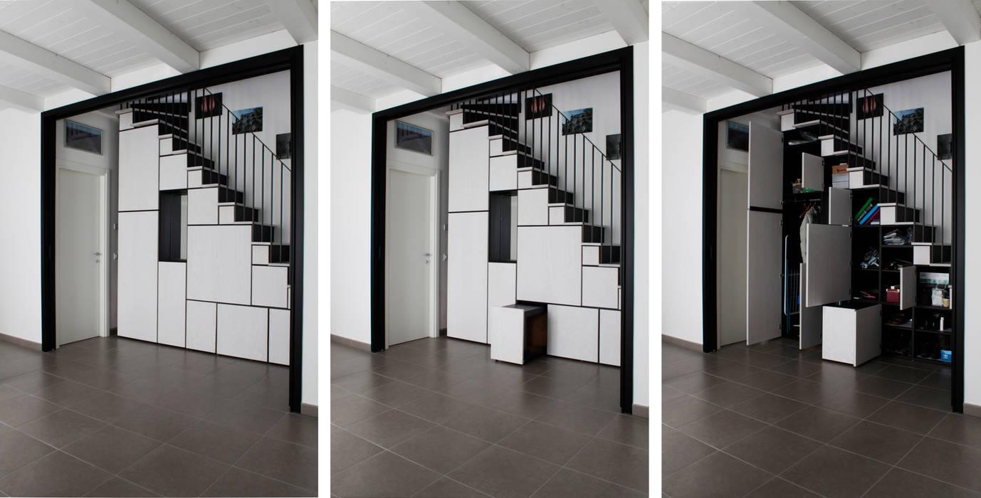 casa DIEMME ellevuelle architetti Soggiorno moderno