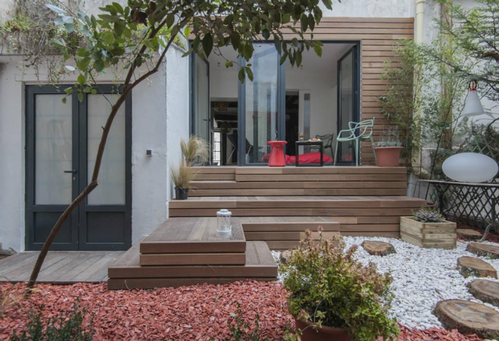 jardin suspendu goodnova godiniaux Balcon, Veranda & Terrasse originaux