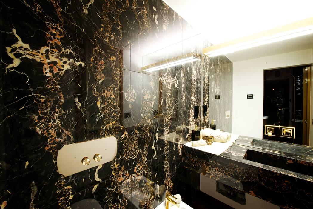 Bagno master bedroom Bagno moderno di Matteo Gattoni - Architetto Moderno