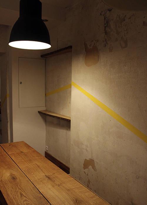 Salle de dégustation: Restaurants de style  par ISIT ARCHITECTURE
